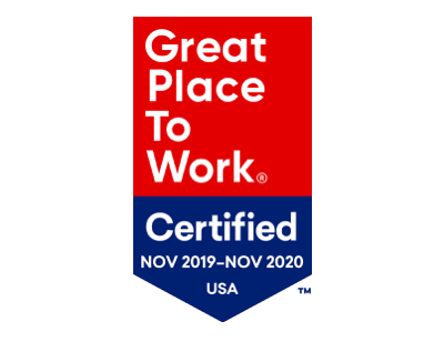 Great Place to Work Nov 2019-2020