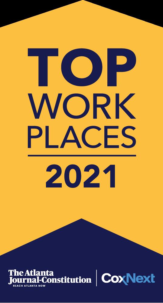 AJC Top Workplaces Award